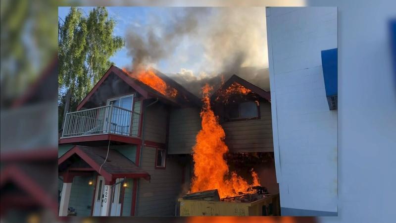 Victoria arson suspect arrested