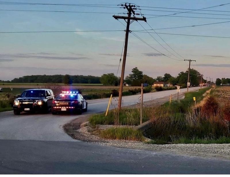 Single vehicle crash in Kingsville