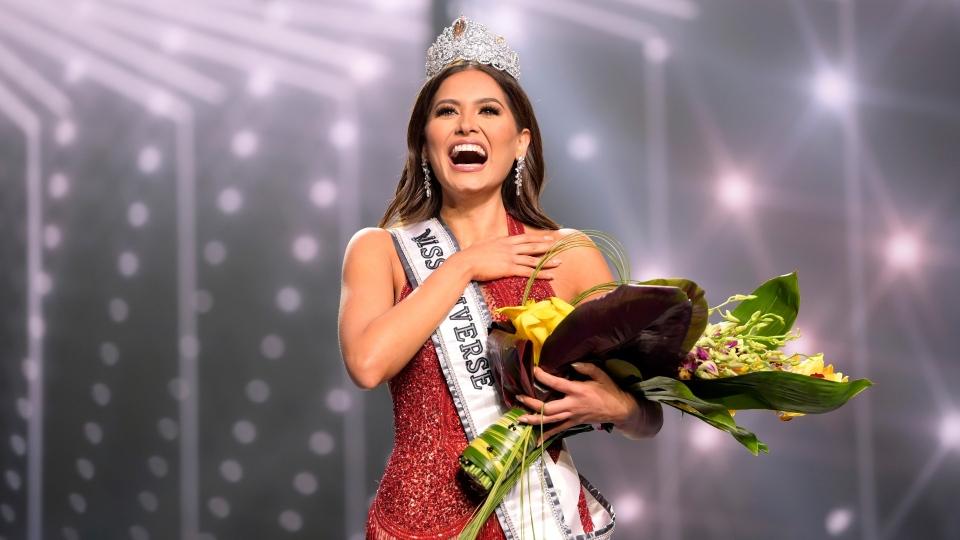 Miss Universe Mexico 2020 Andrea Meza