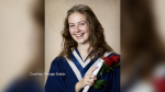 Grade 12 St. Francis Xavier student Georgia Simkin is one of three recipients of this year's University of British Columbia Presidential Scholarship