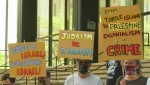 Demonstrations support Palestinian Territories