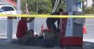 Truck plows through gas station pump in Calif.