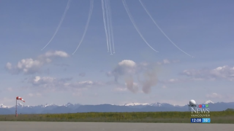 Sombre anniversary: 1 year since Snowbirds crash