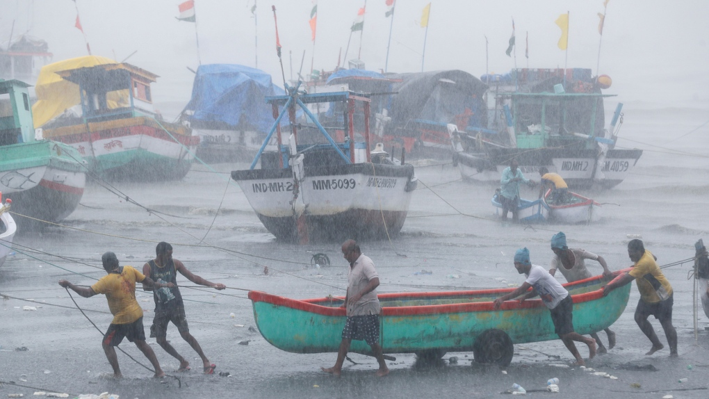Flooding caused by Cyclone Tauktae in India
