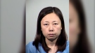 This Saturday, May 15, 2021, booking photo released by Tempe Police Department shows Yui Inoue, 40, who is jailed for allegedly killing her two children in Temple, Ariz. (Tempe Police Department via AP)