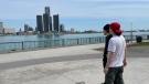 Windsor resident Joseph Uras on the riverfront in Windsor, Ont., on Monday, May 17, 2021. (Melanie Borrelli / CTV WIndsor)
