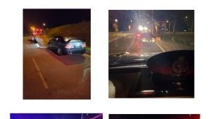 Images provided by Waterloo regional police following a recent street racing campaign. (May 17, 2021)