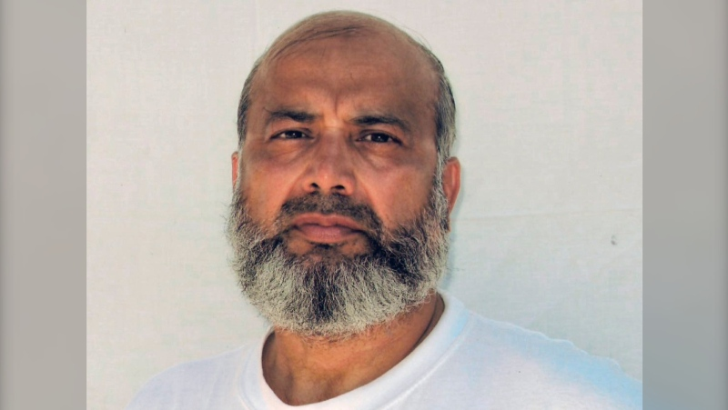This undated photo made by the International Committee of the Red Cross and provided by lawyer David H. Remes, shows Guantanamo prisoner Saifullah Paracha. A lawyer for the oldest prisoner at the U.S. base at Guantanamo Bay, Cuba, says authorities have approved his release after more than 16 years in custody. (Provided by David H. Remes via AP)