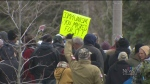 14 charges laid for 'anti-lockdown' rally