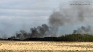 Selkirk wildfire