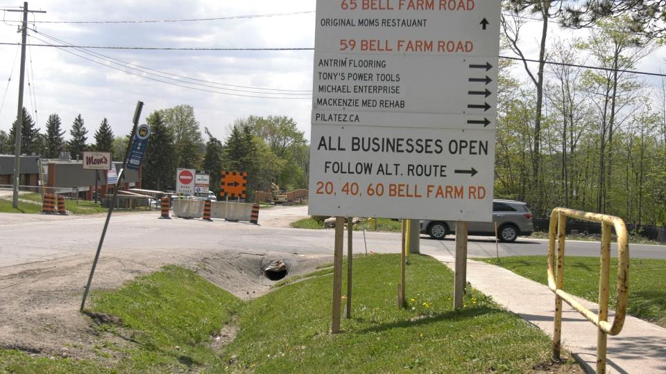 Bell Farm Road May 17