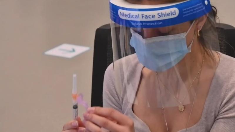 Vaccine hesitancy declining in Alberta