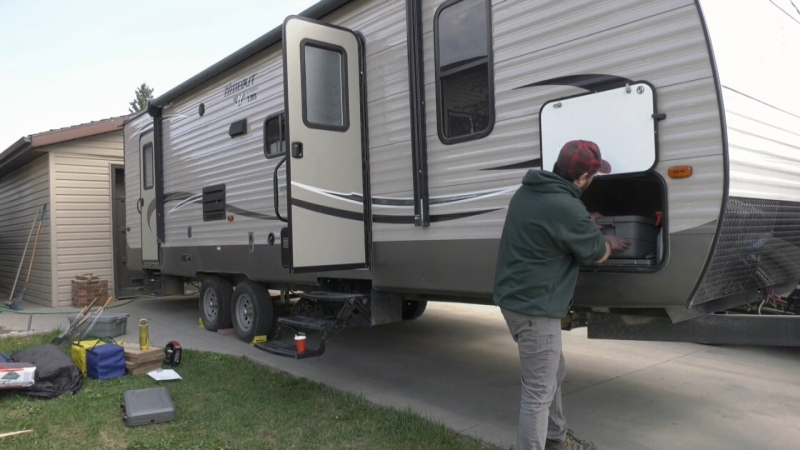 Surge in campground bookings