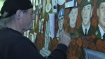 Cambridge artist Dave Sopha who was best known for his 'Portraits of Honour' mural has passed away.