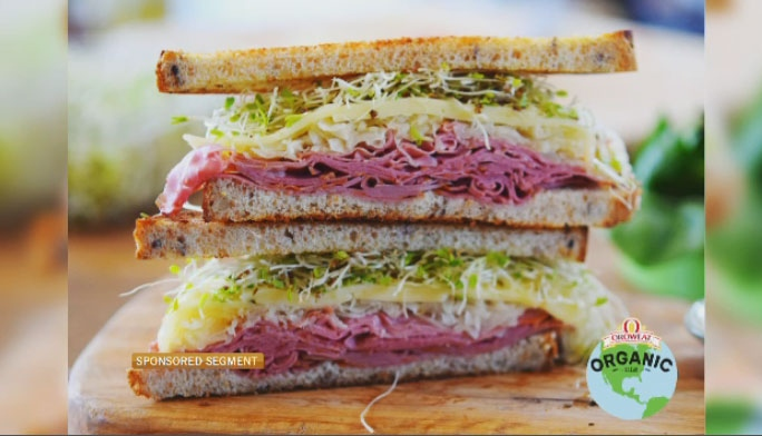 SPONSORED – Red River Reuben with Oroweat Organic