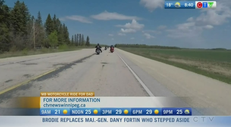 Motorcycle Ride for Dad cruising into 13th year