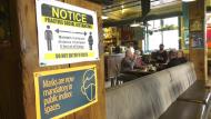 social distancing, Alberta, restaurant, masks