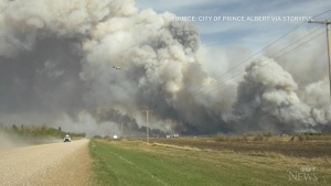Parts of the Prairies battling wildfires