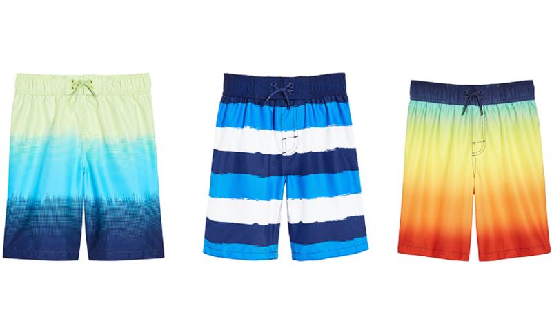 Joe Fresh has issued a voluntary recall for its toddler and kid boy swim shorts. (Photo Courtesy Joe Fresh)