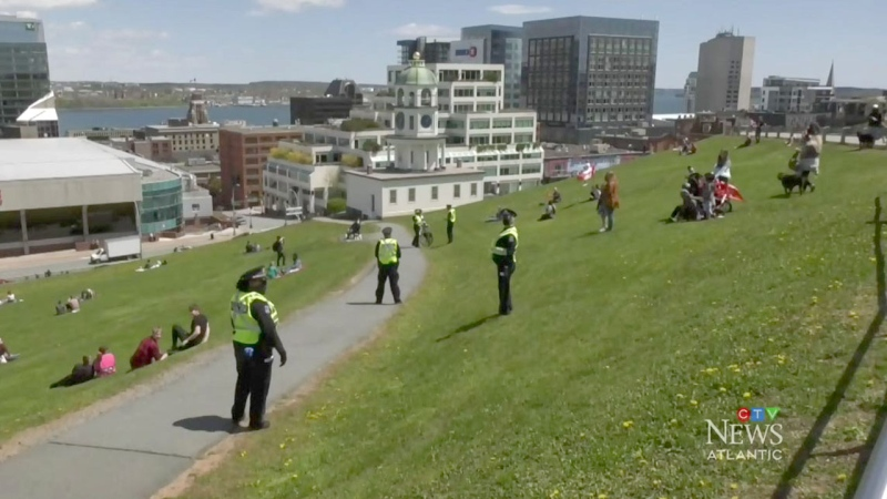 Halifax police defend enforcement of guidelines