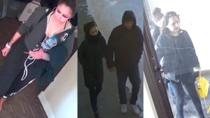 Surveillance images release by police. (Saskatoon Police Service)
