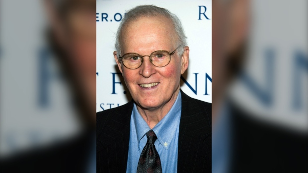 FILE - Charles Grodin attends the Ripple of Hope Awards in New York on Dec. 11, 2013. (Photo by Charles Sykes/Invision/AP, File)