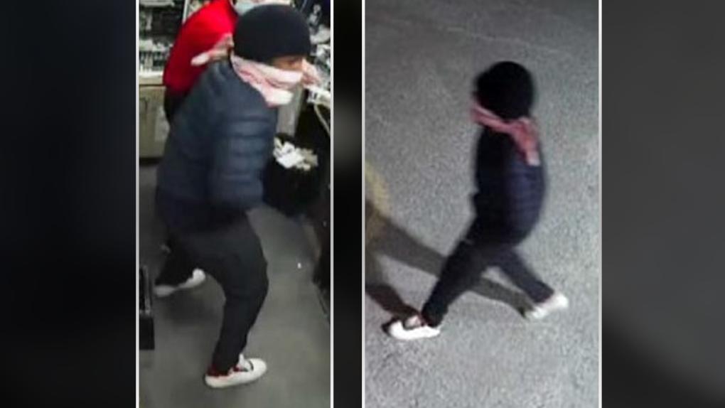 Woodroffe robbery suspect