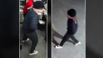 Ottawa police are asking for help identifying this individual, whom they accuse of assaulting a cashier at a Woodroffe Avenue business on March 14, 2021 and stealing money. (Ottawa police handout)