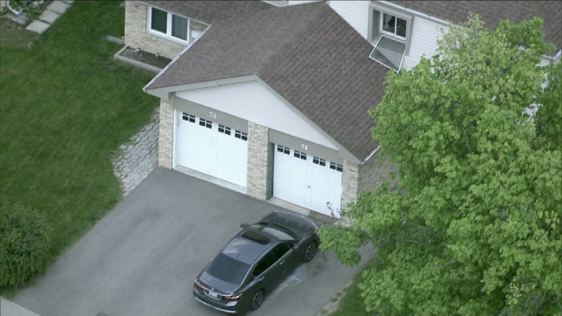 Police say a child has been transported to hospital after falling from a window in Brampton.