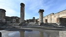 Pompeii, located near Naples in southern Italy, is one of the archeological wonders of the world. (AFP)