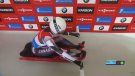 Carolyn Maxwell, the eldest member of the Canadian women's luge team at the age of 21, has her sights set on qualifying for the Beijing Winter Olympics. (file)