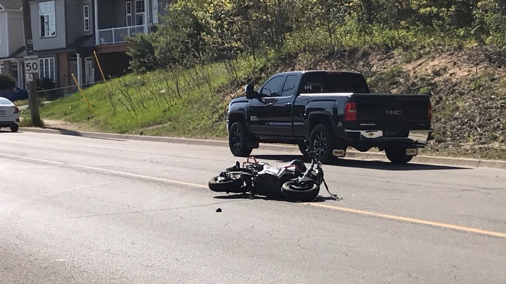Ferndale and Edgehill e-bike crash