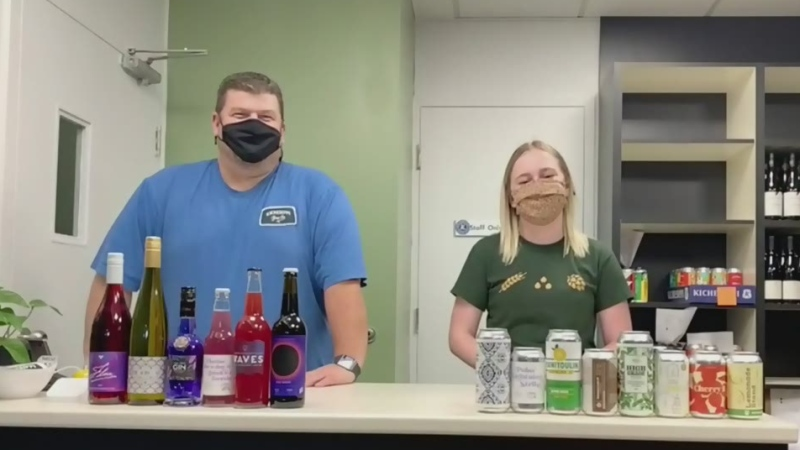 Curbside Pickup: Bottles and Cans Beverage Company
