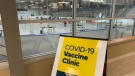A COVID-19 vaccine clinic in Kingston, Ont. (Kimberley Johnson / CTV News Ottawa)