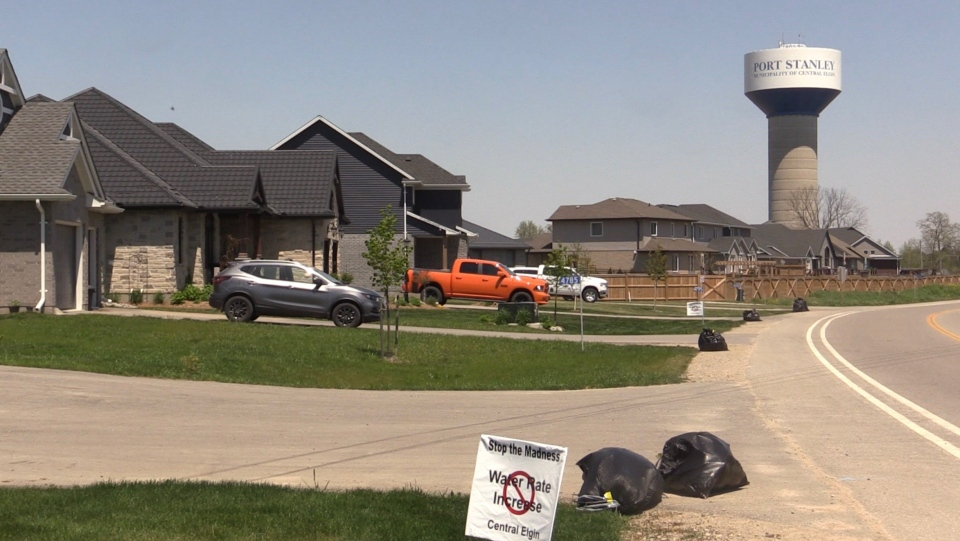 'I can't afford to water the lawn': Central Elgin ...