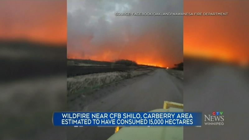 Wildfire danger high in Manitoba