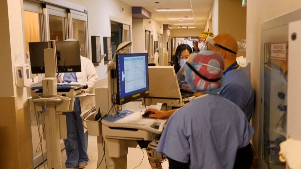 hospital staff during COVID-19