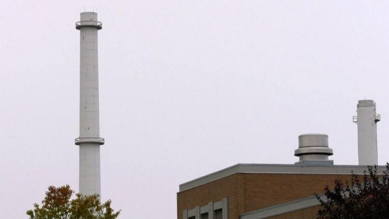 Winnipeg sewage plant