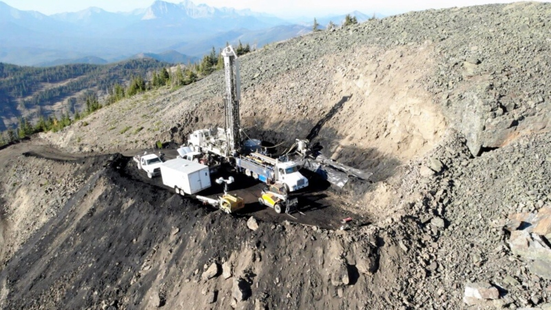 Coal exploration underway in Alberta's Eastern Slopes.