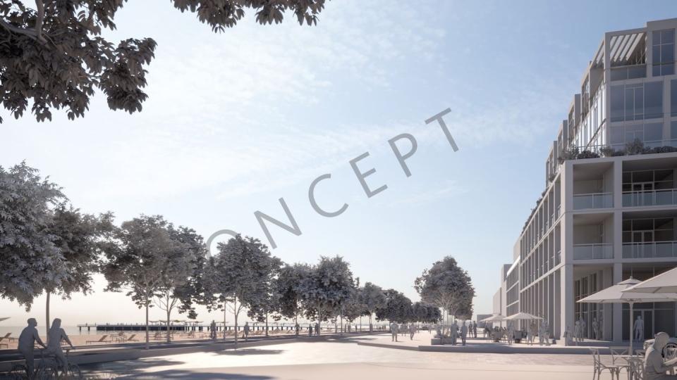 Wasaga Beach development concept