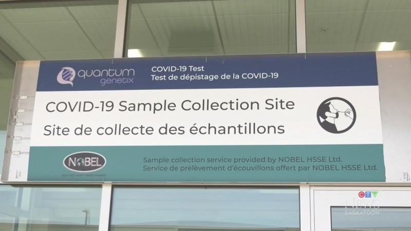 Saskatoon airport begins COVID-19 testing