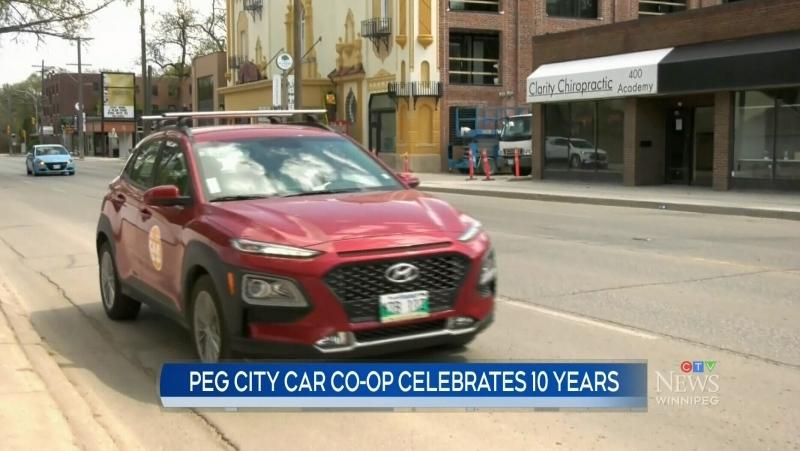 Peg City Car co-op marks milestone