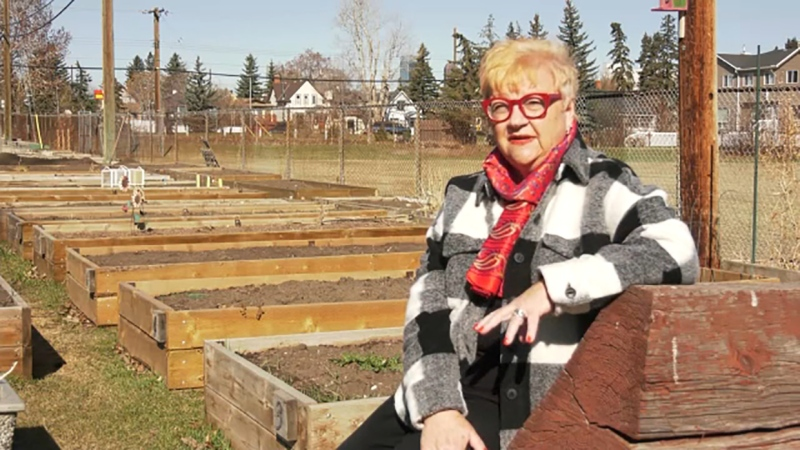 Julia Hinman is a champion of the Inglewood Community Garden and she's this week's Inspired Albertan