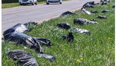 illegal dumping in Oro-Medonte
