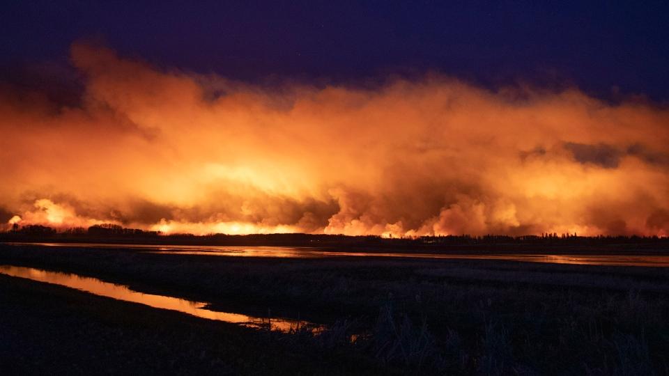 Sask. wildfire