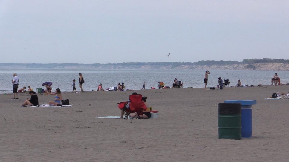Port Stanley, Ont. beach