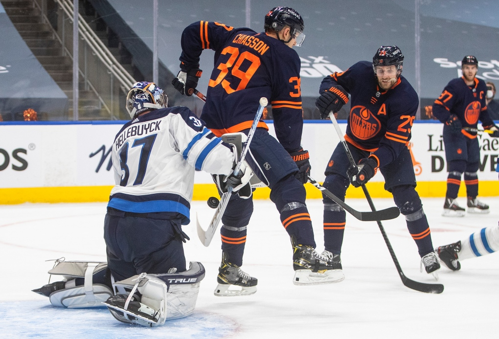 Oilers vs jets May 19