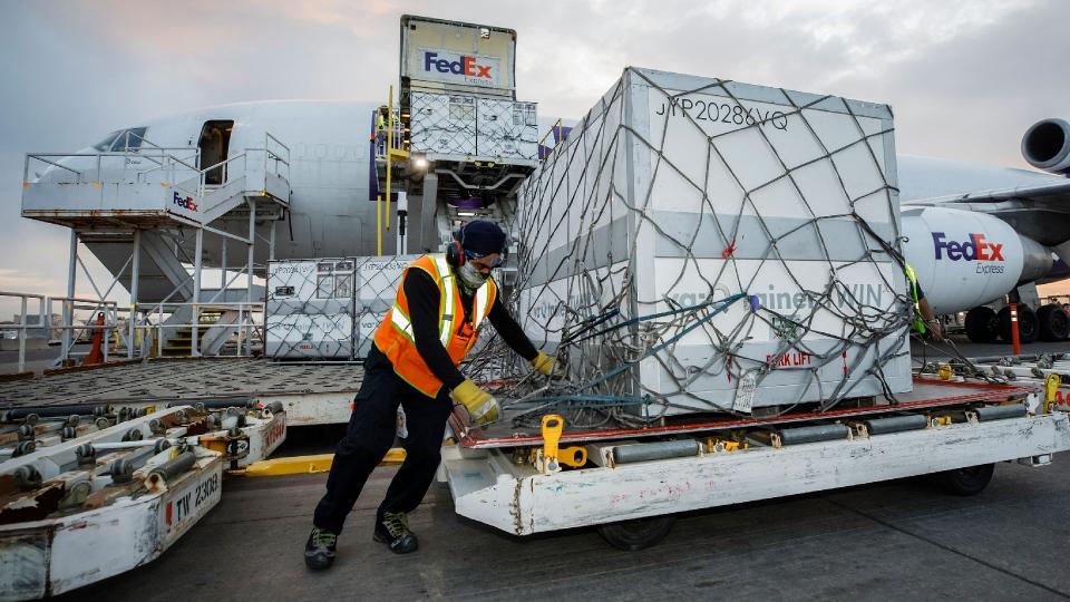 Moderna shipment