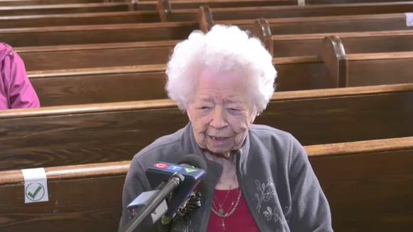 Denise Thompson of Kirkland Lake turned 100