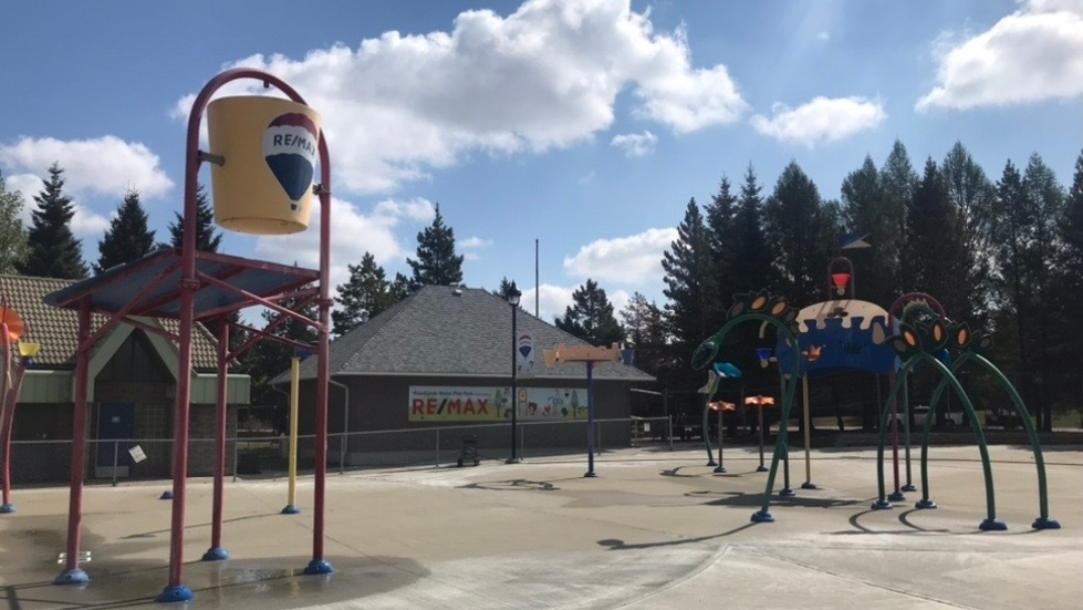 St. Albert spray park